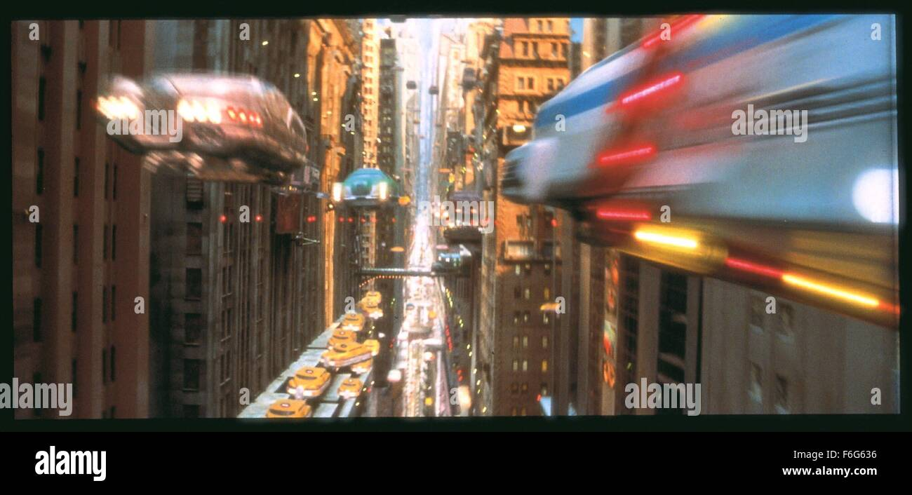 Mar 08, 1997; Paris, FRANCE; Scene from the action, drama, sci-fi, romance ''The Fifth Element'' - Stock Image