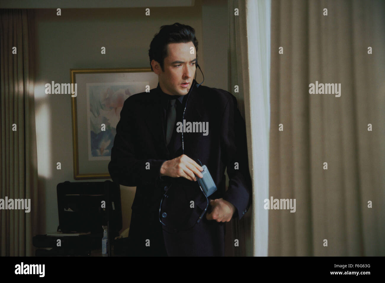 Mar 11, 1997; Los Angeles, CA, USA; Actor JOHN CUSACK as Martin Q.Blank in 'Grosse Pointe Blanke.' - Stock Image