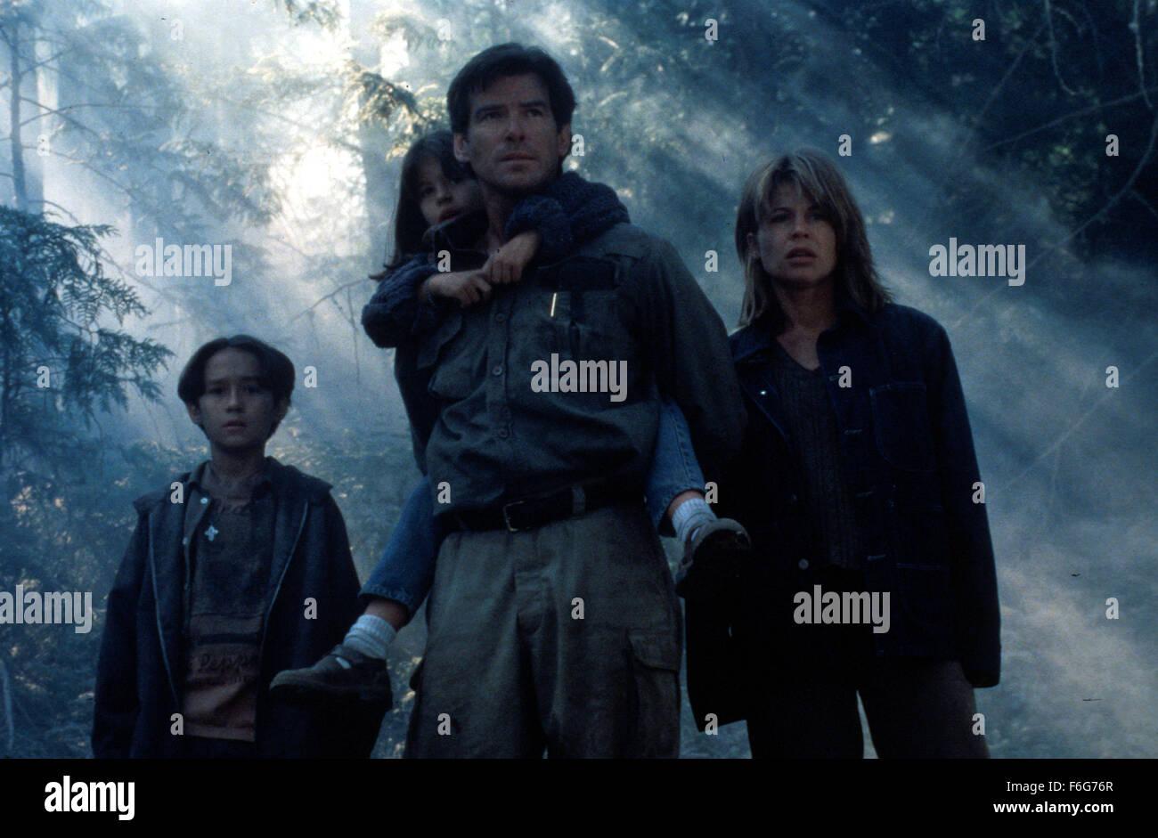 May 11, 1997; Los Angeles, CA, USA; Movie stills from 'Dante's Peak' featuring (LtoR) JEREMY FOLEY as Graham Wando, Stock Photo
