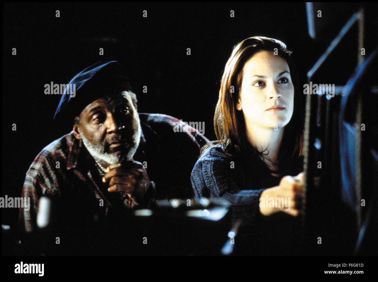 RELEASE DATE: Aug 15, 1997. MOVIE TITLE: Steel. STUDIO: Quincy Jones Entertainment. PLOT: John Henry Irons designs - Stock Image