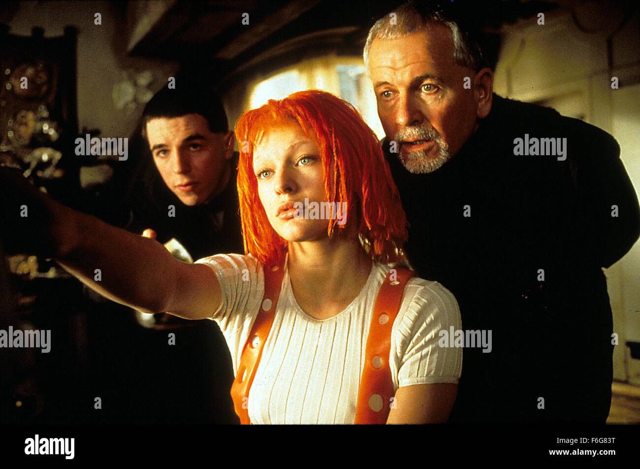 Jan. 1, 1997 - ......The Fifth Element,  Charlie Creed Miles,  Milla Jovovich,  Ian Holm..Film and Television. (Credit - Stock Image