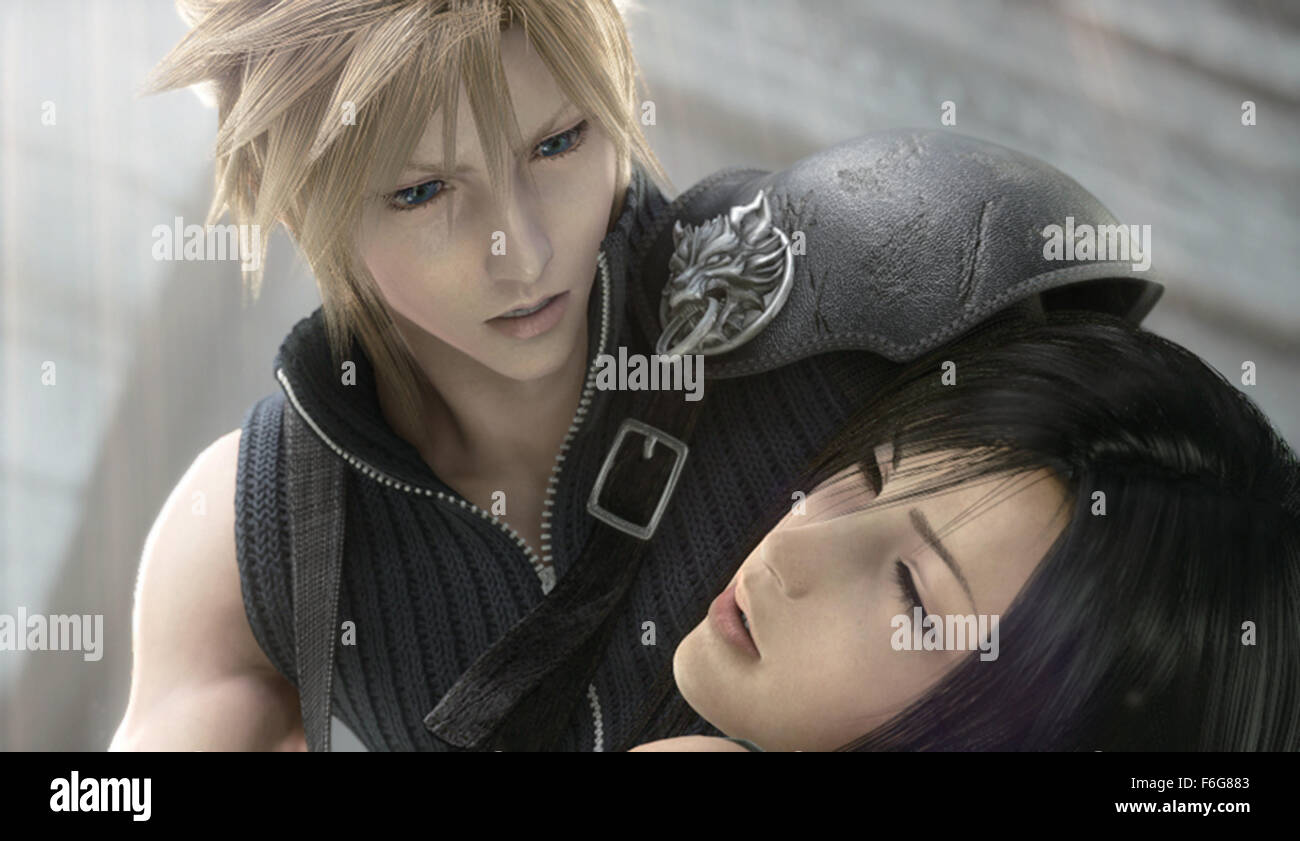 Sep 03, 1997; Toyko, JAPAN; Directed by TOSHINORI KITASE a scene from 'Final Fantasy VII Advent Children.' - Stock Image