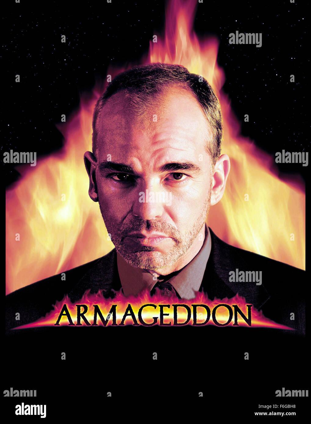 armageddon film poster 1998 stock photos armageddon film poster
