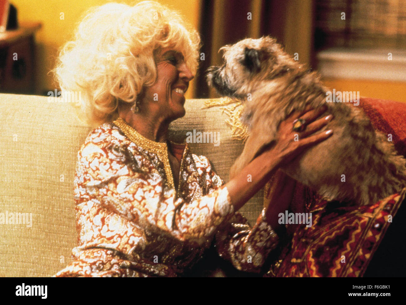 Jul 15, 1998; Los Angeles, CA, USA; Actress LIN SHAYE stars as Magda in the 20th Century Fox comedy, 'There's - Stock Image