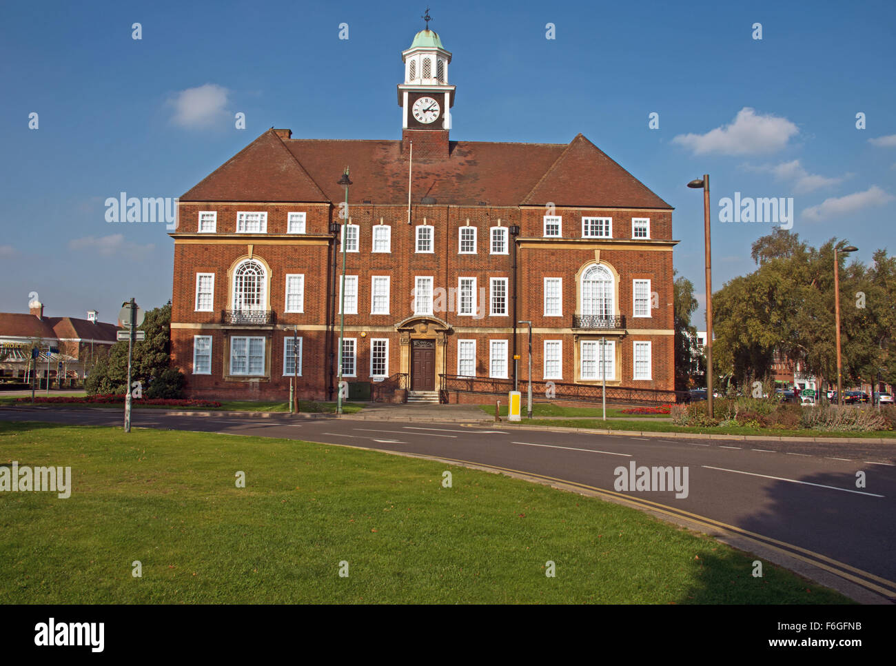 Letchworth Town Hall Hertfordshire Stock Photos & Letchworth Town ...