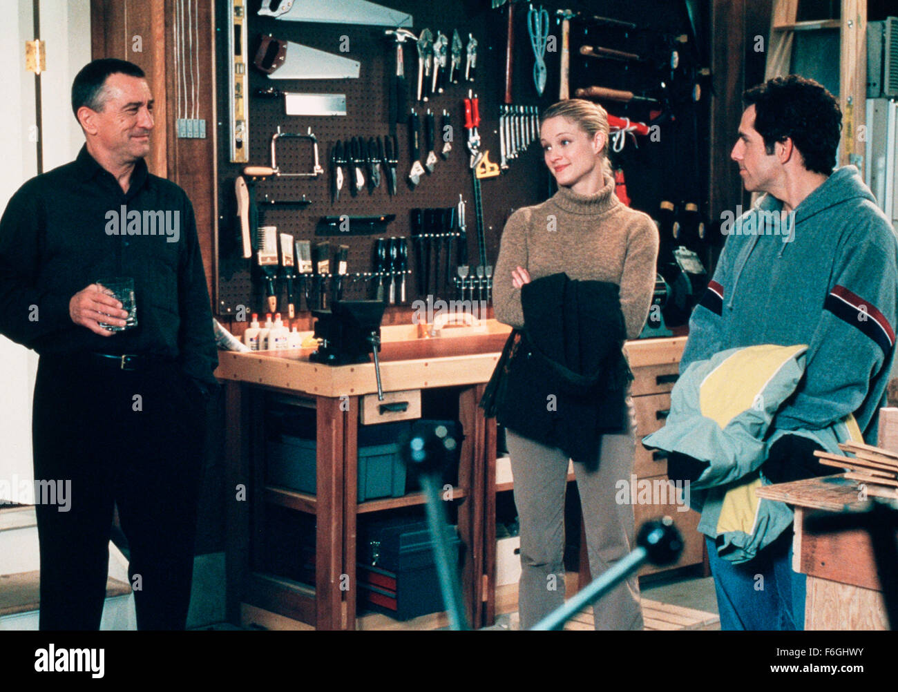 Mar 01, 2000; Hollywood, CA, USA; ROBERT DE NIRO, TERI POLO and BEN STILLER star as Jack Byrnes, Pam Byrnes and - Stock Image