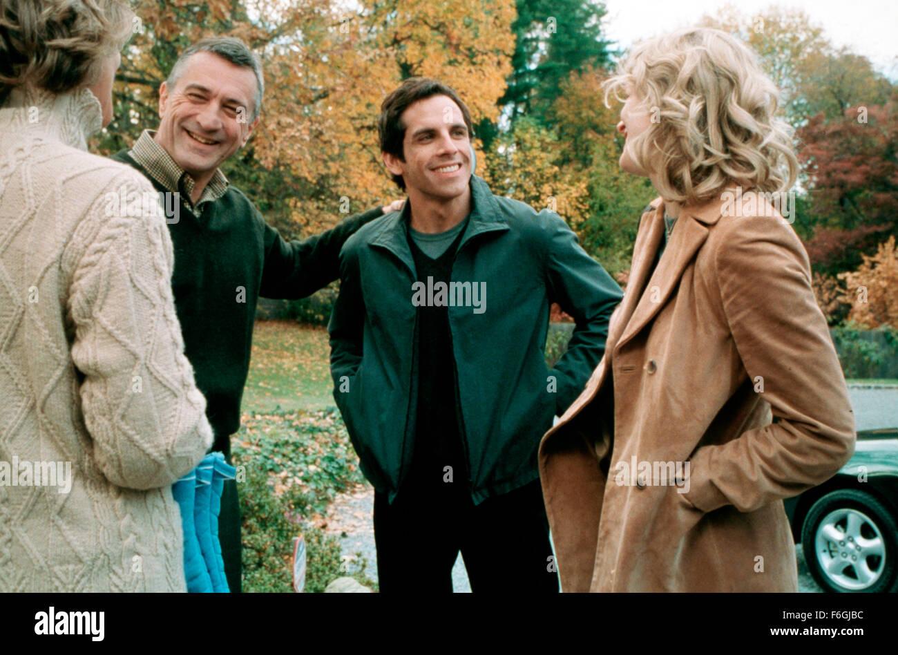 Mar 07, 2000; Hollywood, CA, USA; ROBERT DE NIRO, BEN STILLER and TERI POLO star as Jack Byrnes, Greg Focker and - Stock Image