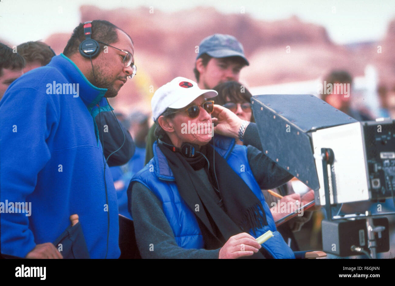 Sep 09, 2000; Las Vegas, NV, USA; Director BRUCE PALTROW on the set of the comedy/drama 'Duets.' - Stock Image