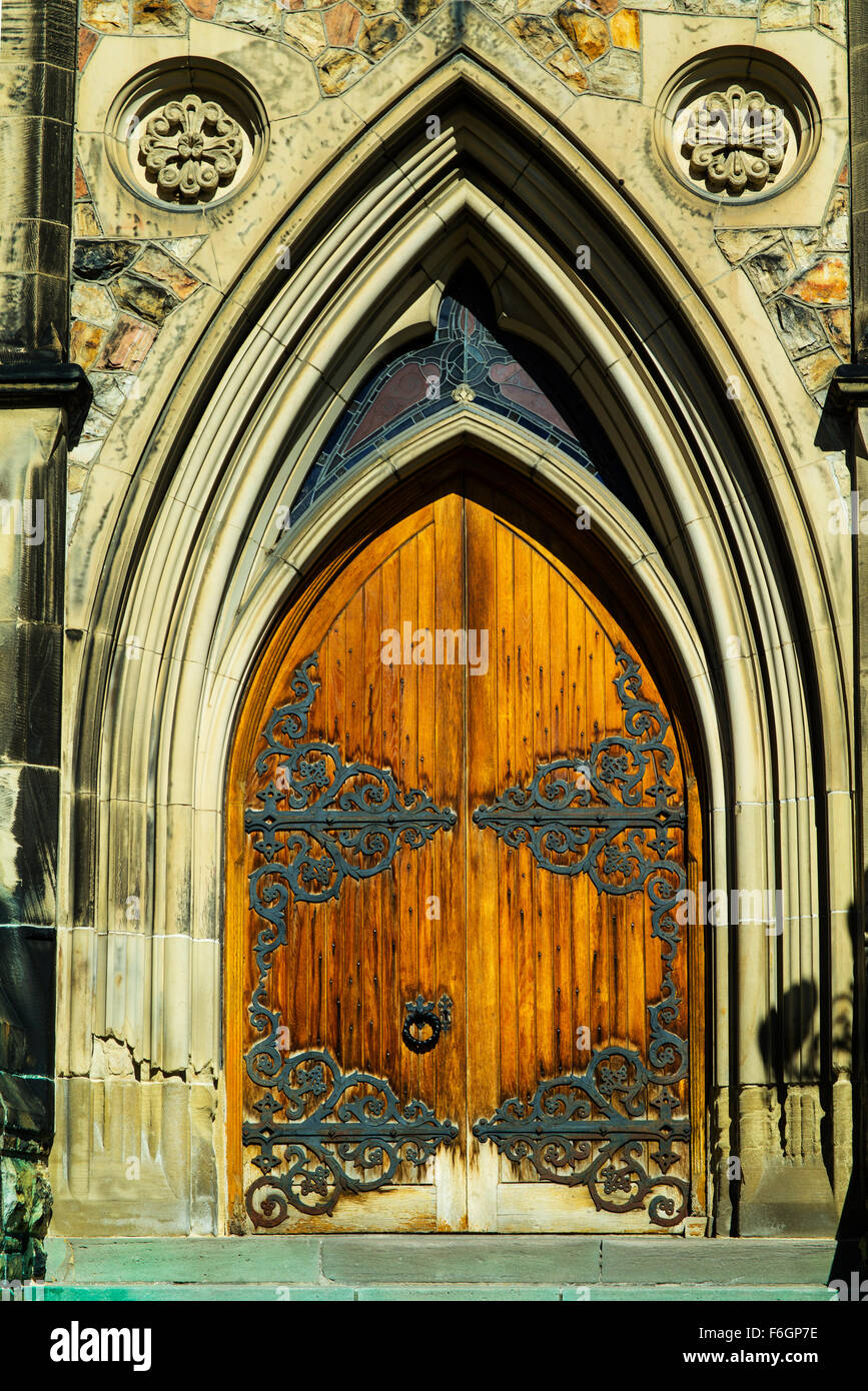 Gothic Revival style wooden doors Parliament Hill Ottawa Canada & Gothic Revival style wooden doors Parliament Hill Ottawa Canada ...
