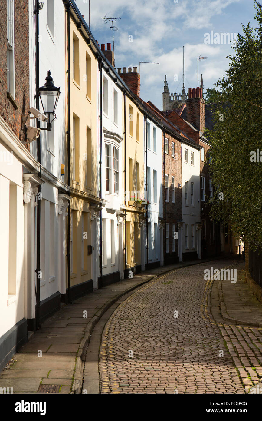 Yorkshire Terrace: UK, England, Yorkshire, Hull, Prince Street, Pastel