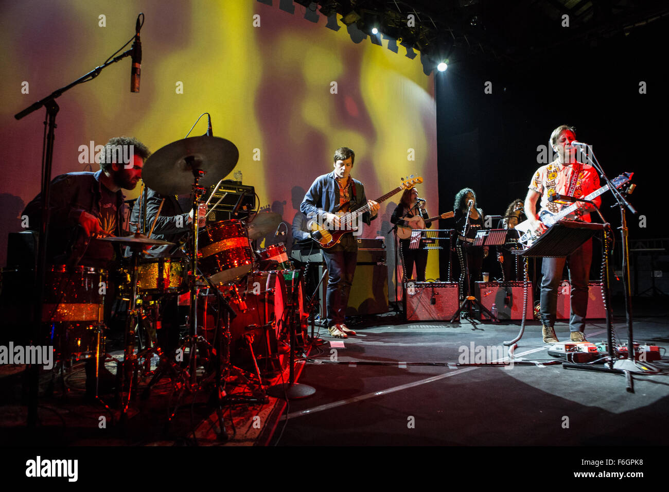 Milan, Italy. 16th Nov 2015. The American rock band THE ARCS a side-project by Dan Auerbach of The Black Keys performs - Stock Image