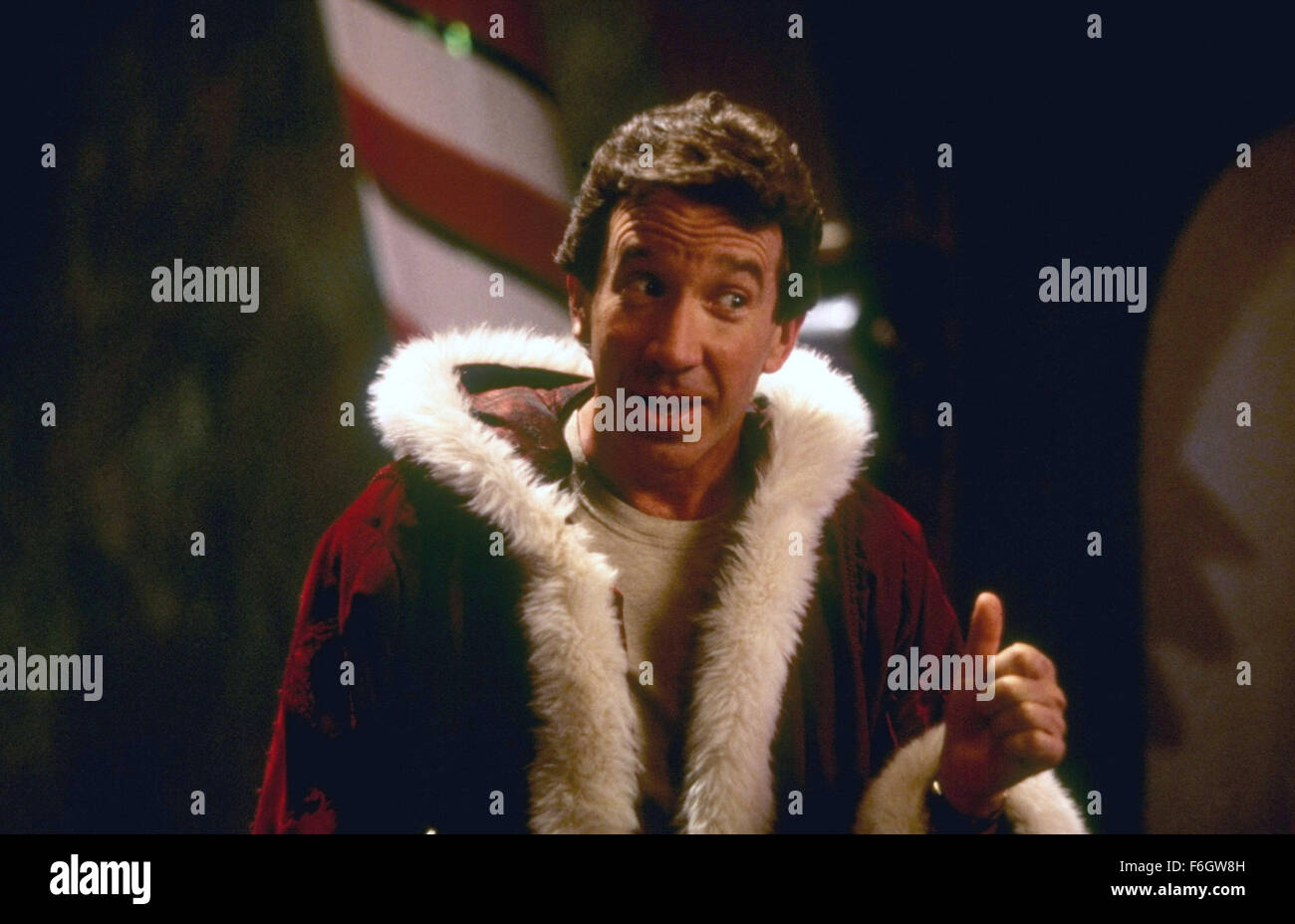 Oct 10, 2001; Hollywood, CA, USA; TIM ALLEN as Scott Calvin/Santa Claus in the family, fantasy, comedy ''The - Stock Image