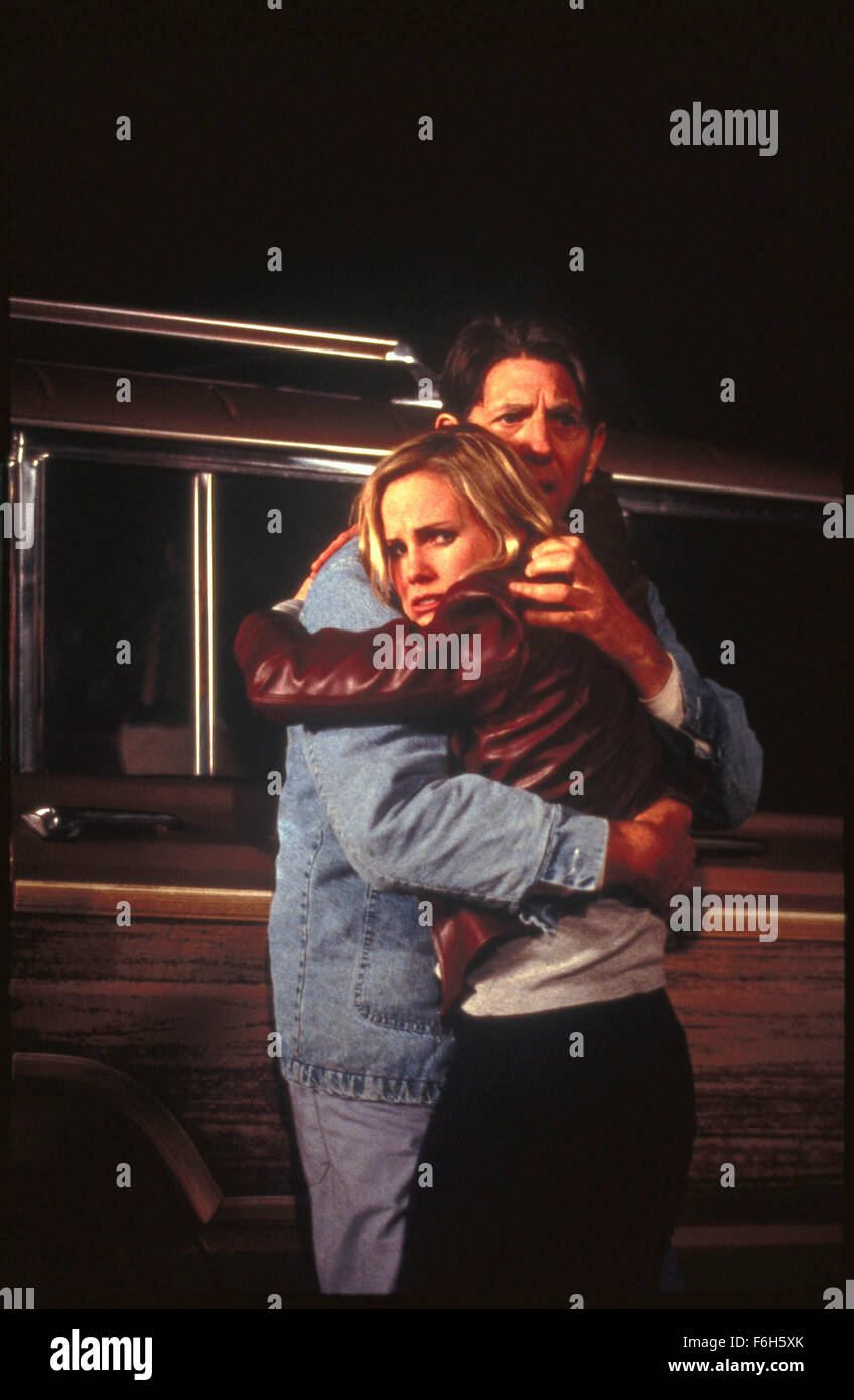 May 15, 2002; Los Angeles, CA, USA; PETER COYOTE as John Traveller, and MAUREEN FLANNIGAN as Jude Traveller in 'Written - Stock Image