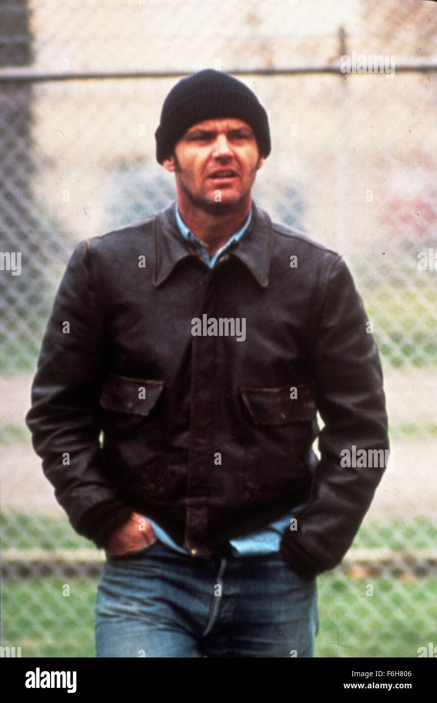 1975, Film Title: ONE FLEW OVER THE CUCKOO'S NEST, Pictured: CLOTHING, HAT, JEANS, KNIT, LEATHER JACKET. (Credit - Stock Image