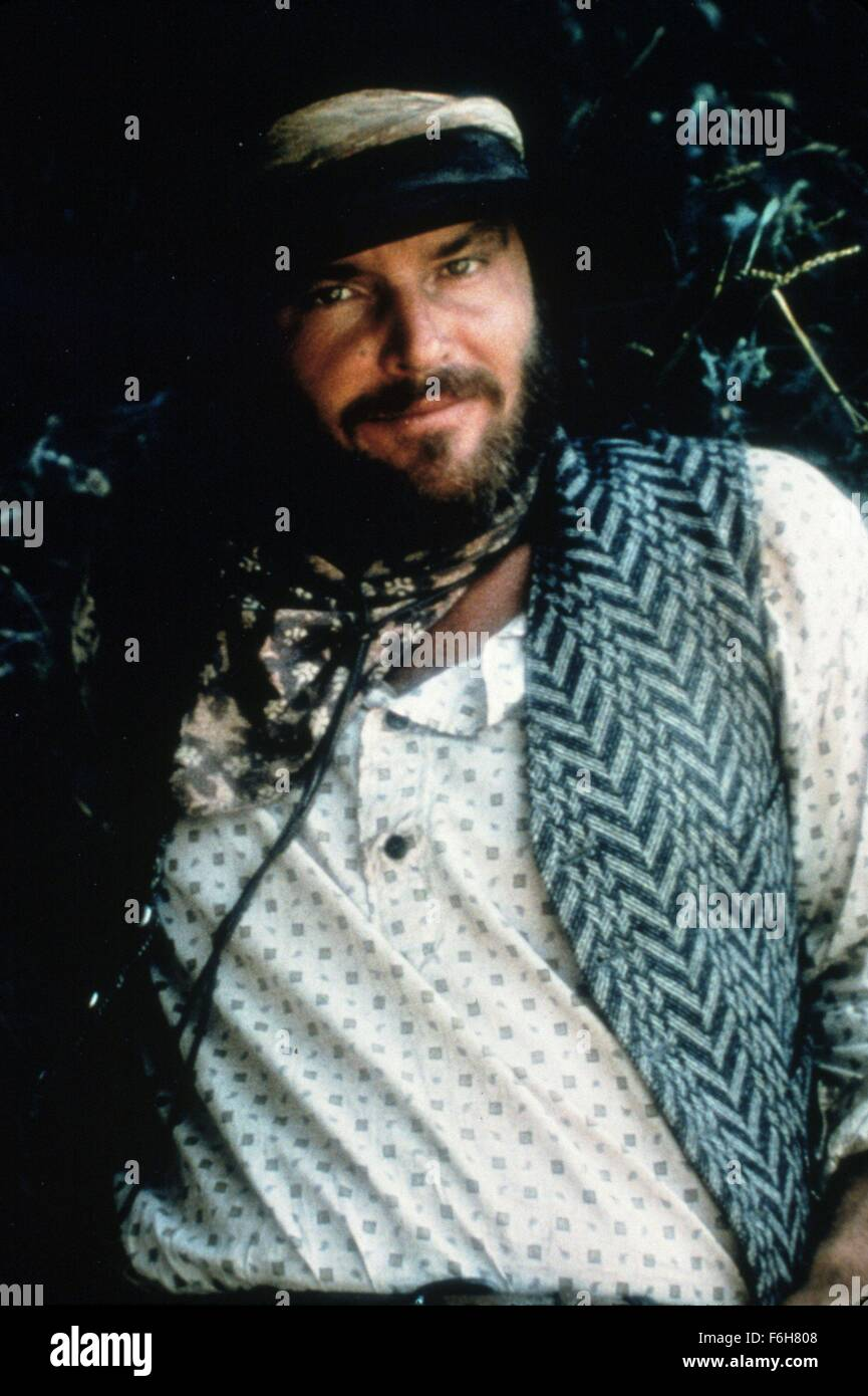1976, Film Title: MISSOURI BREAKS, Pictured: BEARD, COWBOY, HAT, MOUSTACHE. (Credit Image: SNAP) - Stock Image