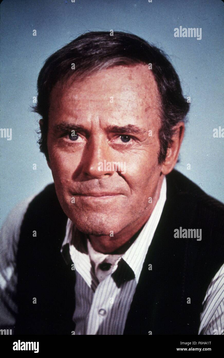 1967, Film Title: WELCOME TO HARD TIMES, Director: BURT KENNEDY, Studio: MGM, Pictured: HENRY FONDA. (Credit Image: - Stock Image