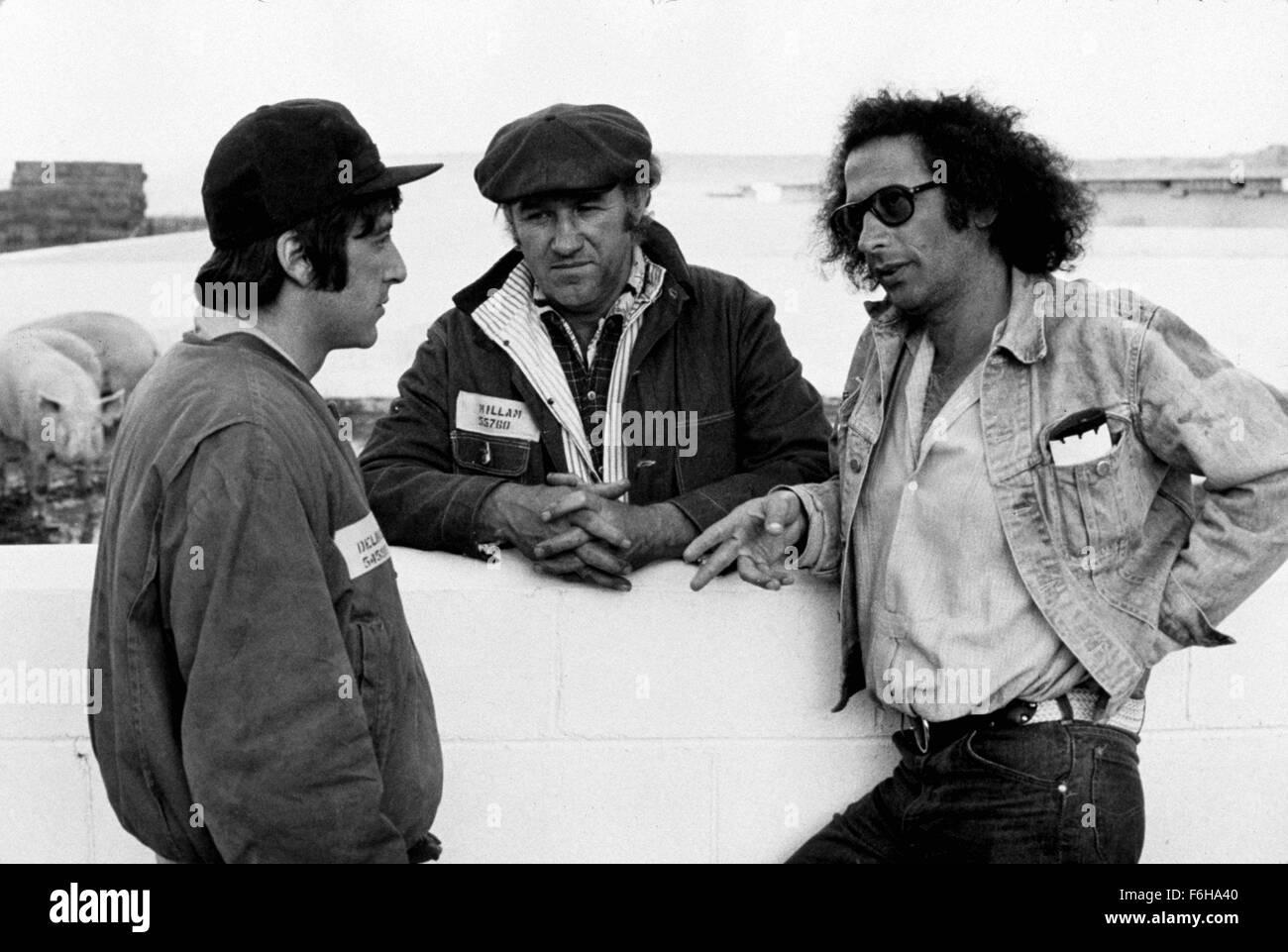 1973, Film Title: SCARECROW, Pictured: GENE HACKMAN, AL PACINO. (Credit Image: SNAP) - Stock Image