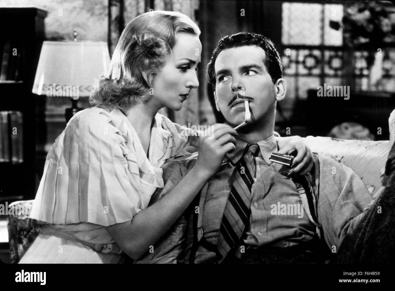 ... Studio PARAMOUNT Pictured ACCESSORIES CIGARETTE CAROLE LOMBARD FRED MacMURRAY SMOKERS INTIMATE SEDUCTIVE MAKING ADVANCES FLIRTING LIGHTING ...  sc 1 st  Alamy & 1937 Film Title: TRUE CONFESSION Director: WESLEY RUGGLES Studio ...