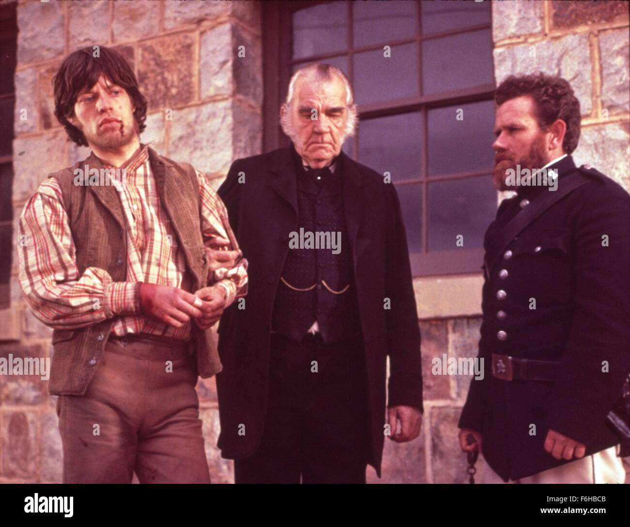 1970, Film Title: NED KELLY, Director: TONY RICHARDSON, Pictured: MICK JAGGER. (Credit Image: SNAP) - Stock Image