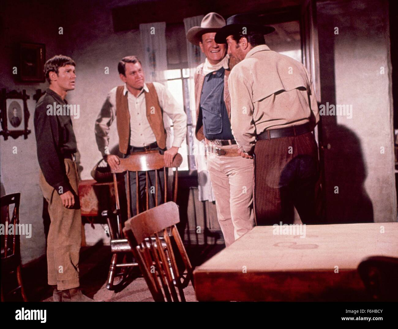 1965, Film Title: SONS OF KATIE ELDER, Director: HENRY HATHAWAY, Pictured: MICHAEL ANDERSON, HENRY HATHAWAY, EARL - Stock Image