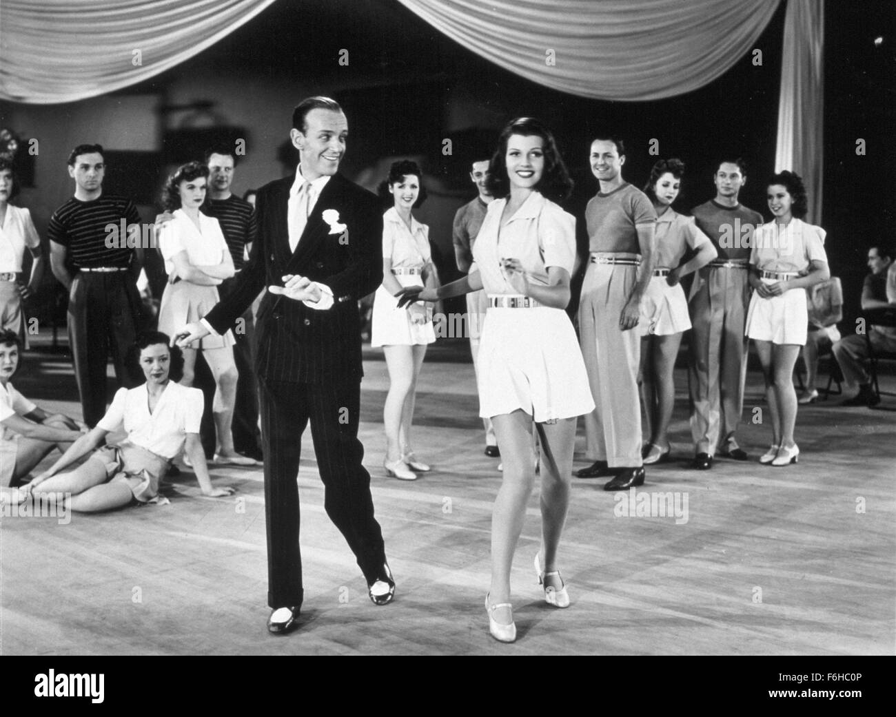 1941, Film Title: YOU'LL NEVER GET RICH, Director: SIDNEY LANFIELD, Studio: COLUMBIA, Pictured: FRED ASTAIRE, DANCING, Stock Photo