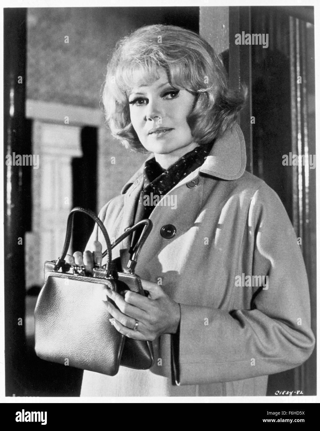 1966, Film Title: MONEY TRAP, Director: BURT KENNEDY, Studio: MGM, Pictured: RITA HAYWORTH. (Credit Image: SNAP) - Stock Image
