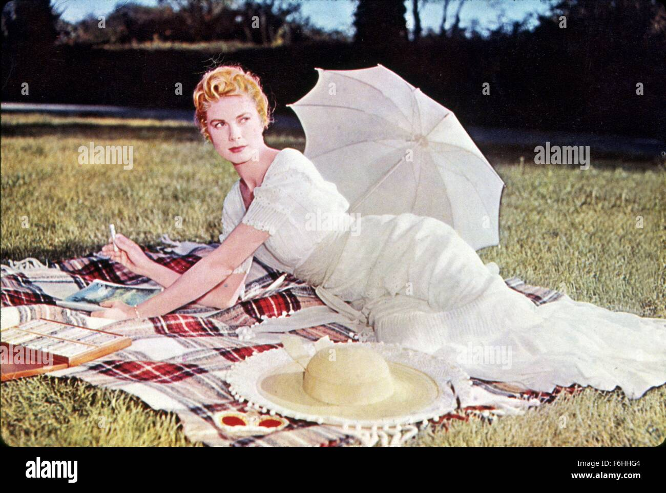 1956, Film Title: SWAN, Director: CHARLES VIDOR, Studio: MGM, Pictured: GRACE KELLY. (Credit Image: SNAP) - Stock Image