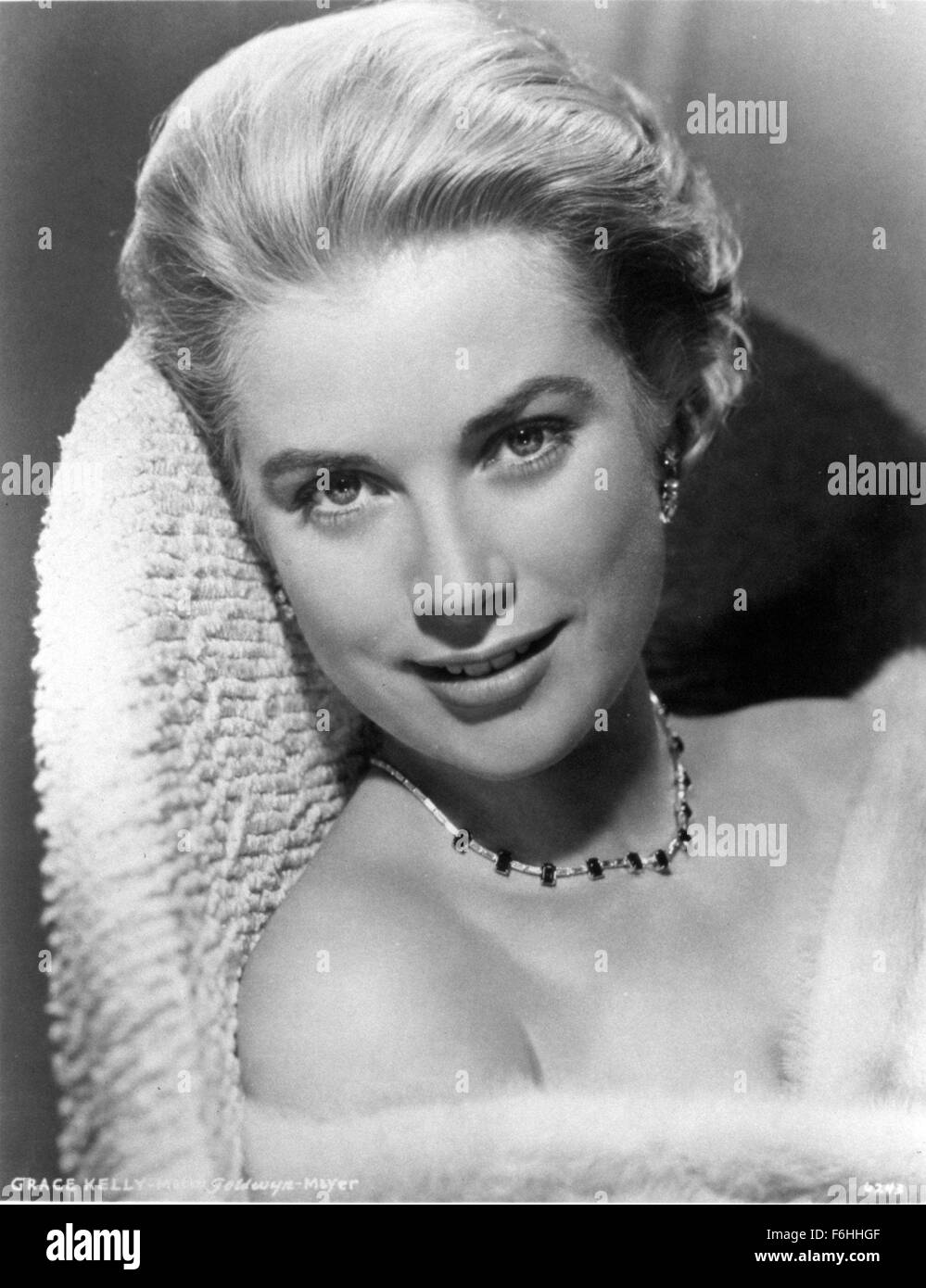 1956, Film Title: HIGH SOCIETY, Director: CHARLES WALTERS, Studio: MGM, Pictured: GRACE KELLY. (Credit Image: SNAP) - Stock Image