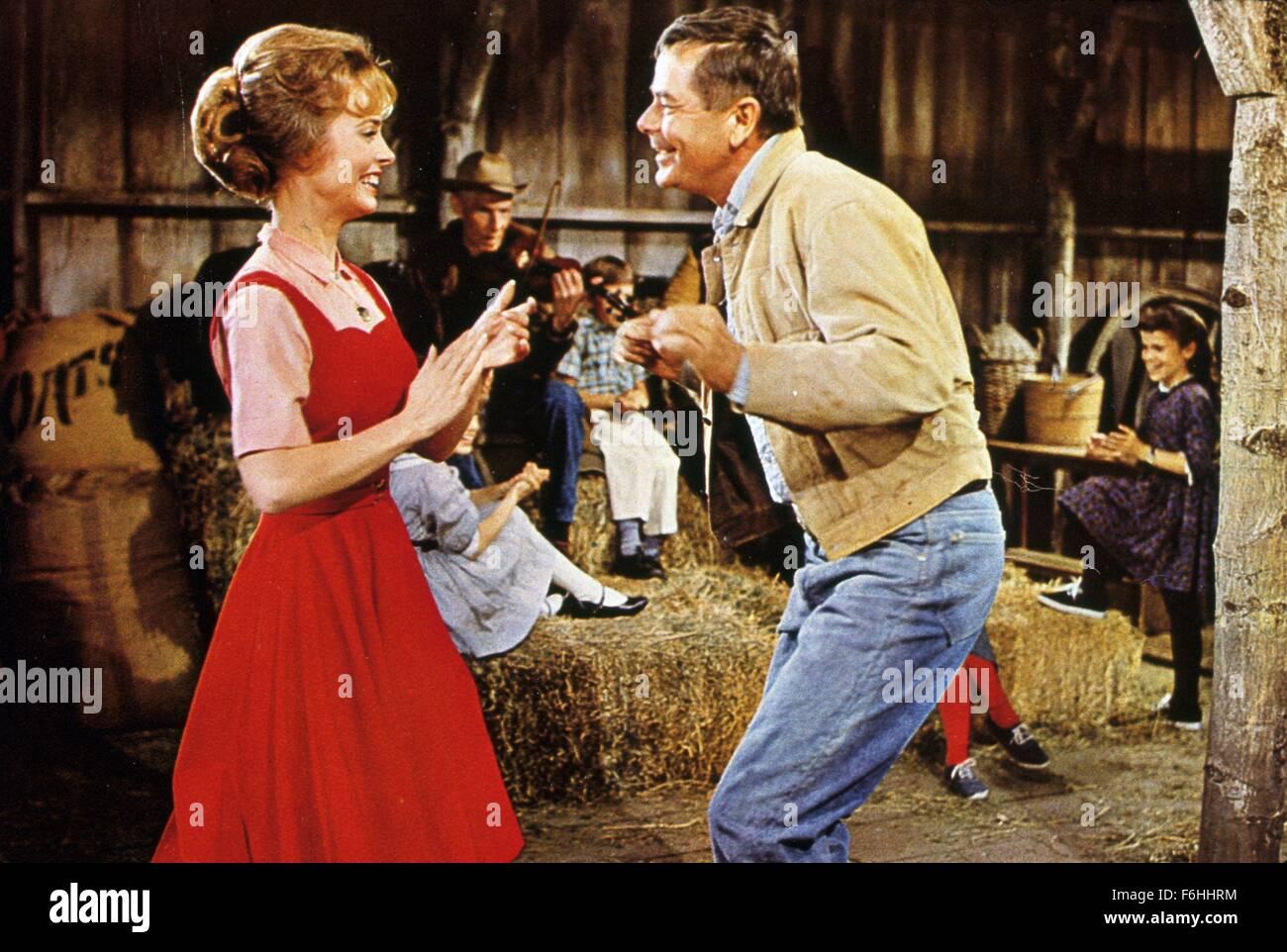 1965, Film Title: ROUNDERS, Director: BURT KENNEDY, Studio: MGM, Pictured: GLENN FORD, JOAN FREEMAN. (Credit Image: - Stock Image