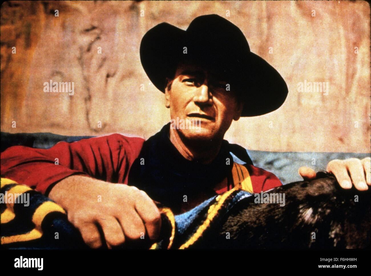 1956, Film Title: SEARCHERS, Director: JOHN FORD, Studio: WARNER, Pictured: JOHN FORD. (Credit Image: SNAP) - Stock Image