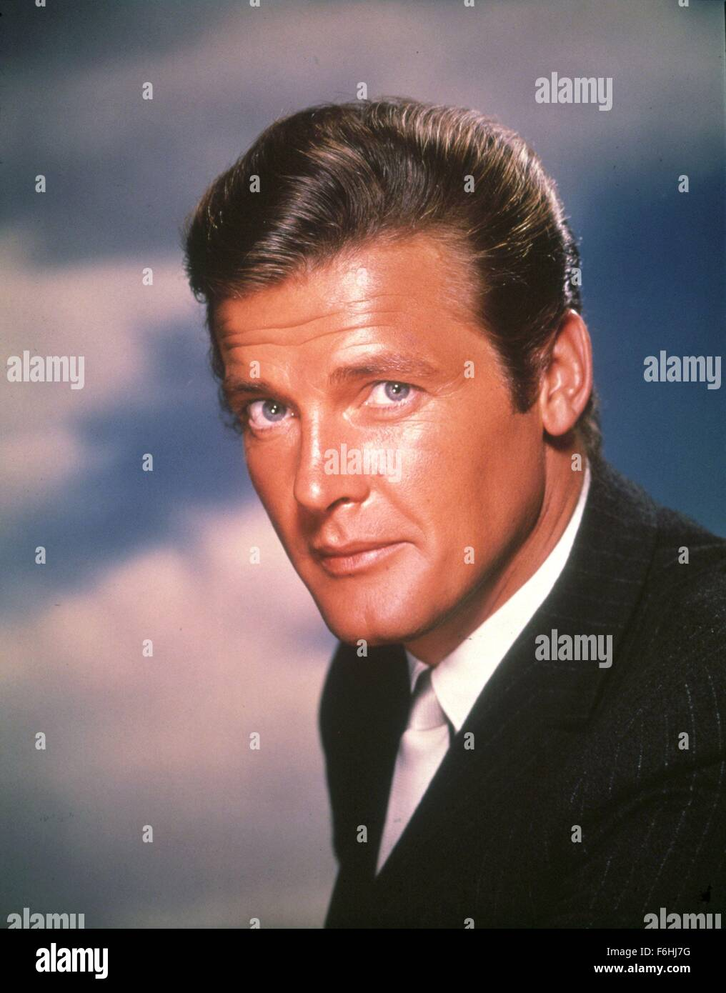 1963, Film Title: SAINT, Pictured: CHARACTER, ROGER MOORE. (Credit Image: SNAP) - Stock Image