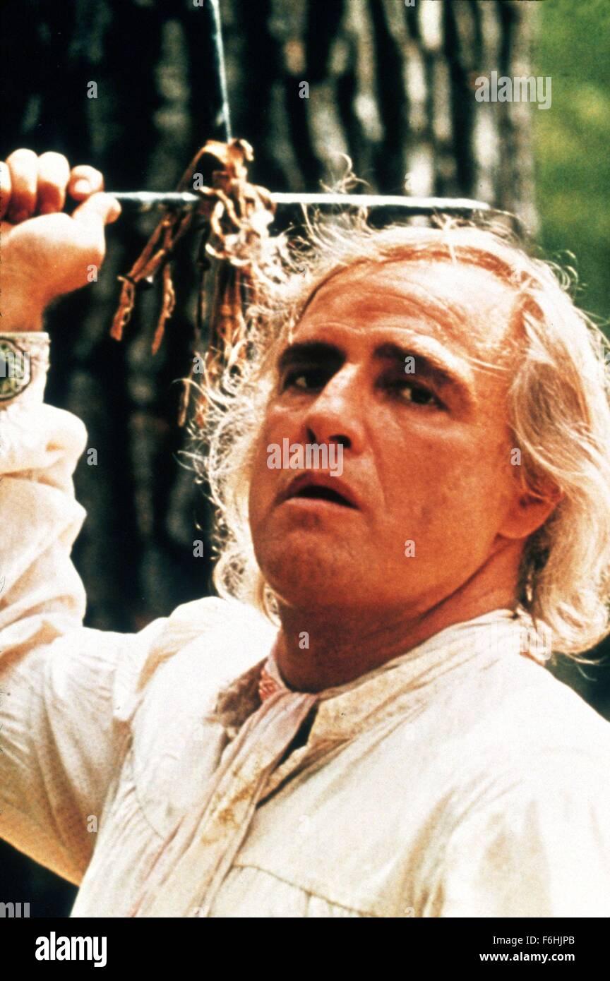 1976, Film Title: MISSOURI BREAKS, Director: ARTHUR PENN, Pictured: MARLON BRANDO. (Credit Image: SNAP) - Stock Image