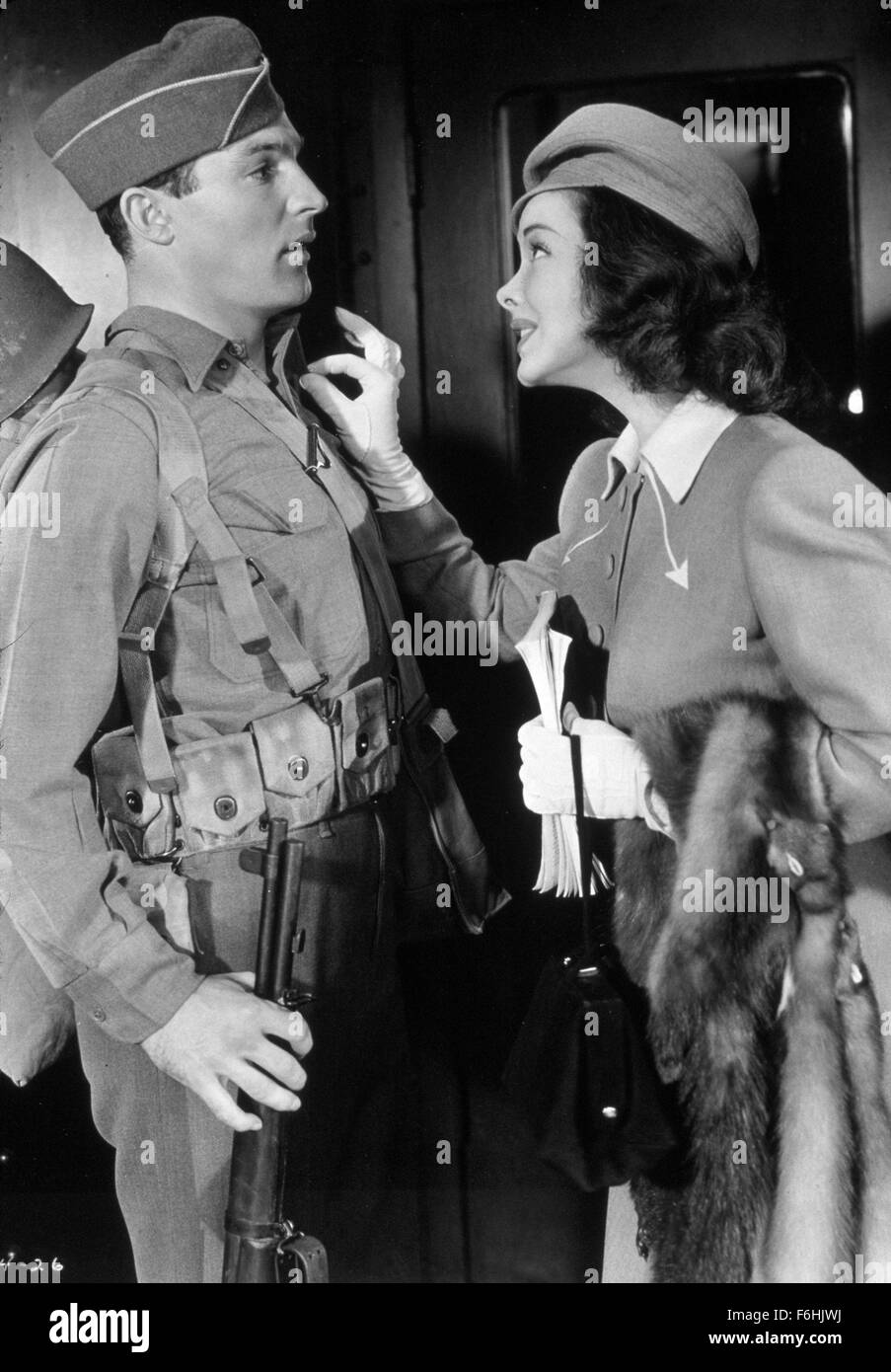 1943, Film Title: THOUSANDS CHEER, Director: GEORGE SIDNEY, Studio: MGM, Pictured: KATHRYN GRAYSON, GENE KELLY. - Stock Image