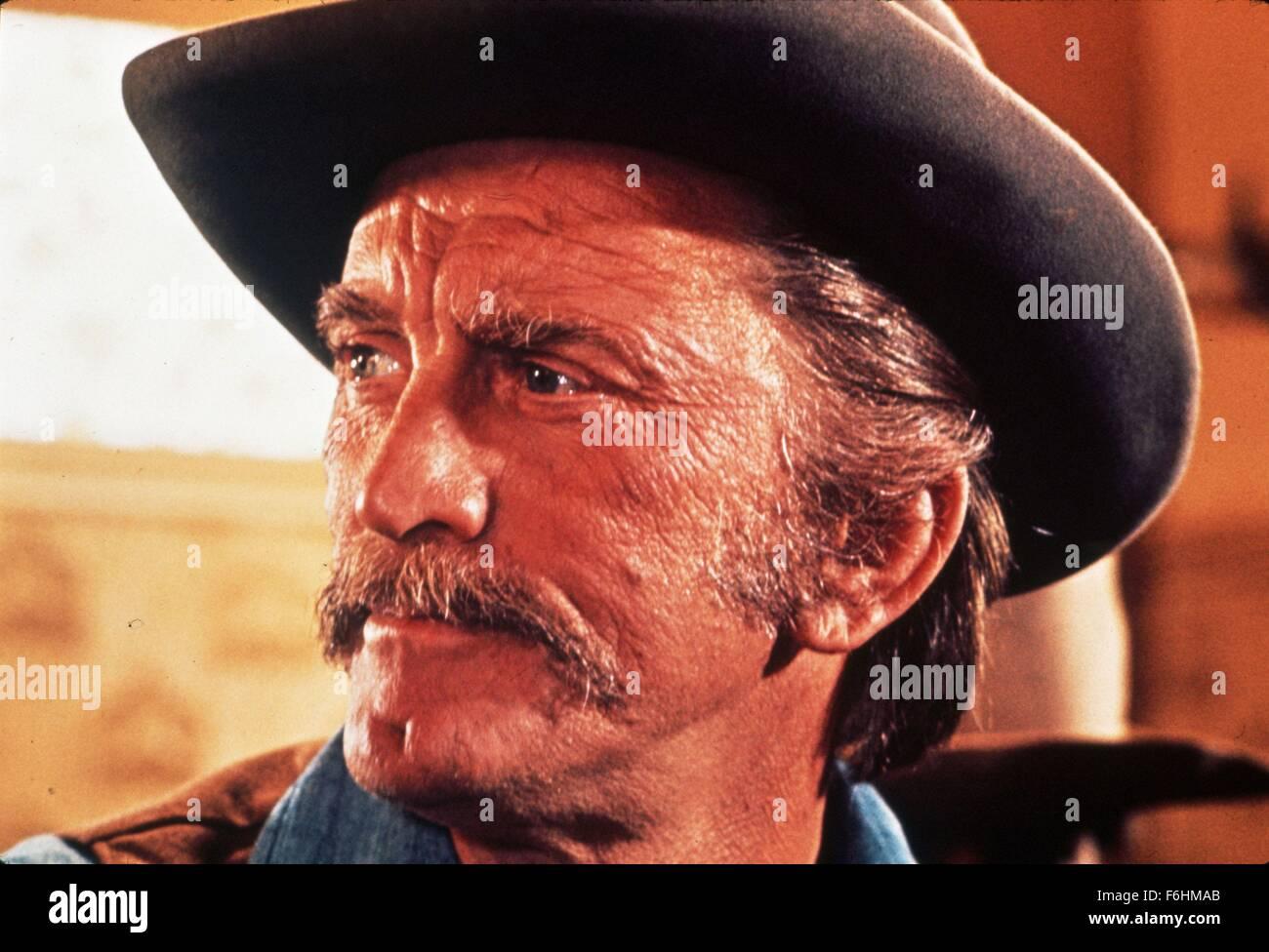 1967, Film Title: WAR WAGON, Director: BURT KENNEDY, Studio: UNIV, Pictured: KIRK DOUGLAS. (Credit Image: SNAP) - Stock Image