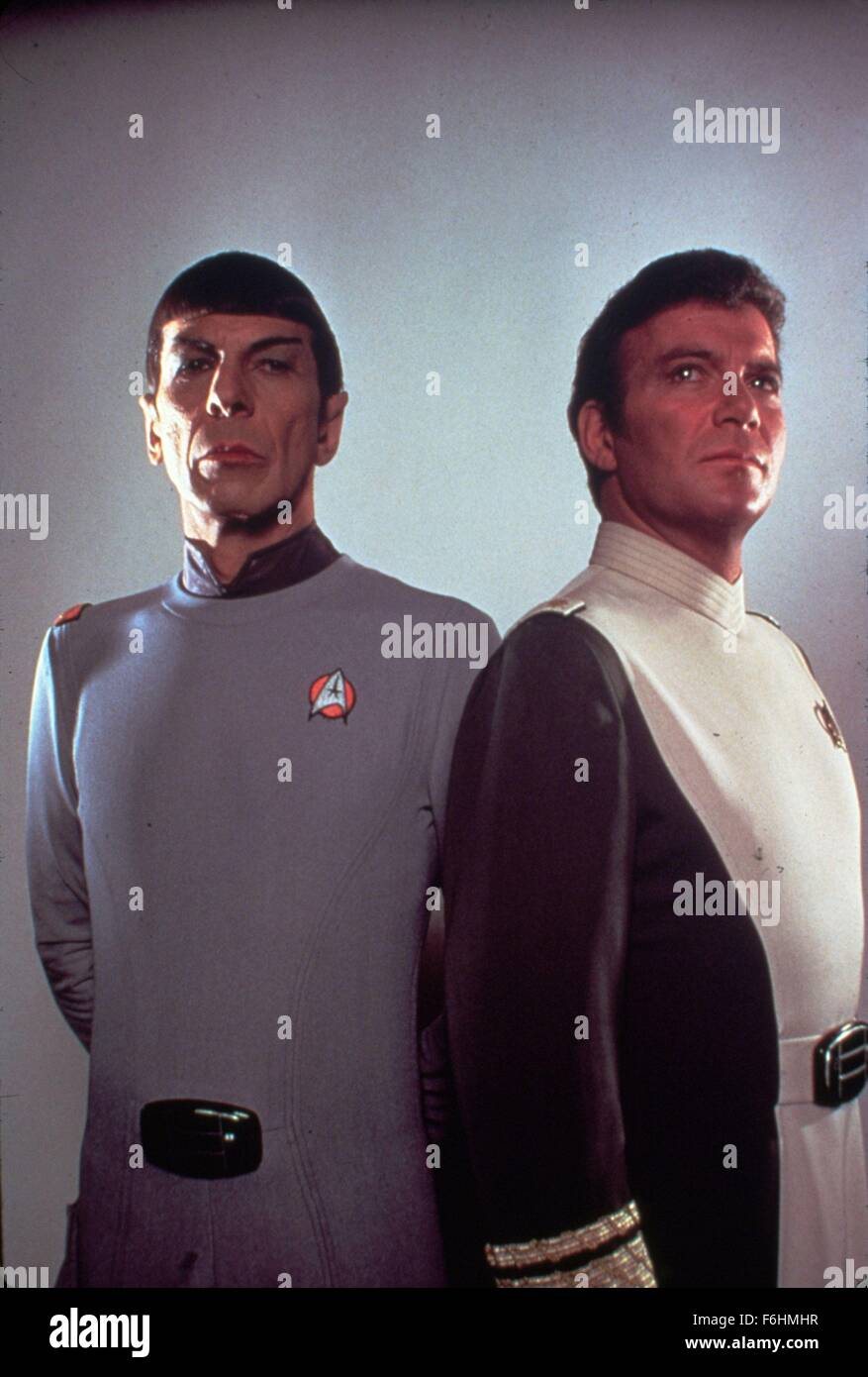 1986, Film Title: STAR TREK IV: THE VOYAGE HOME, Director: LEONARD NIMOY, Studio: PARAMOUNT, Pictured: LEONARD NIMOY. Stock Photo