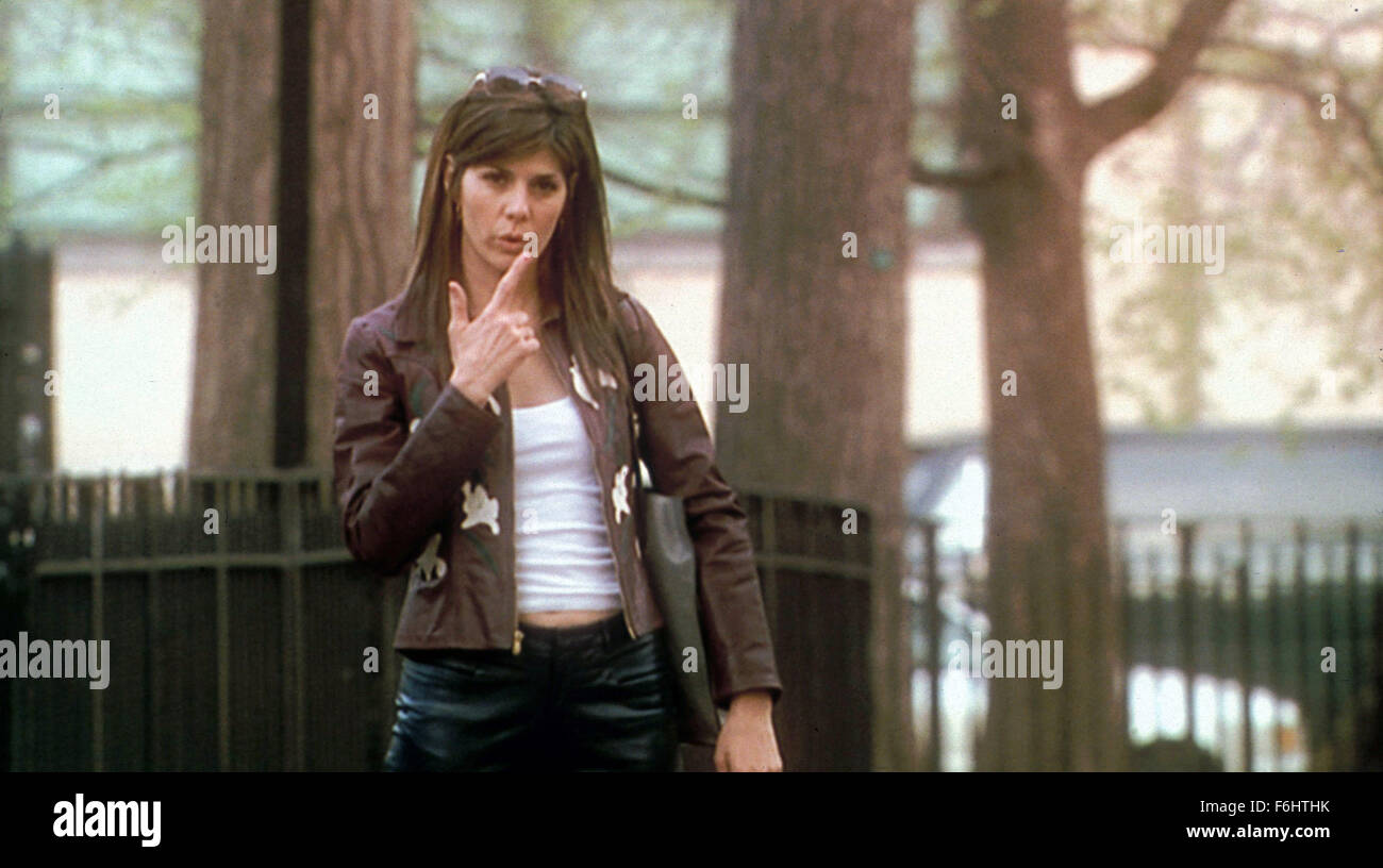 Jun 15, 2002; Hollywood, CA, USA; MARISA TOMEI as Paula in the romantic comedy ''Just a Kiss'' directed - Stock Image