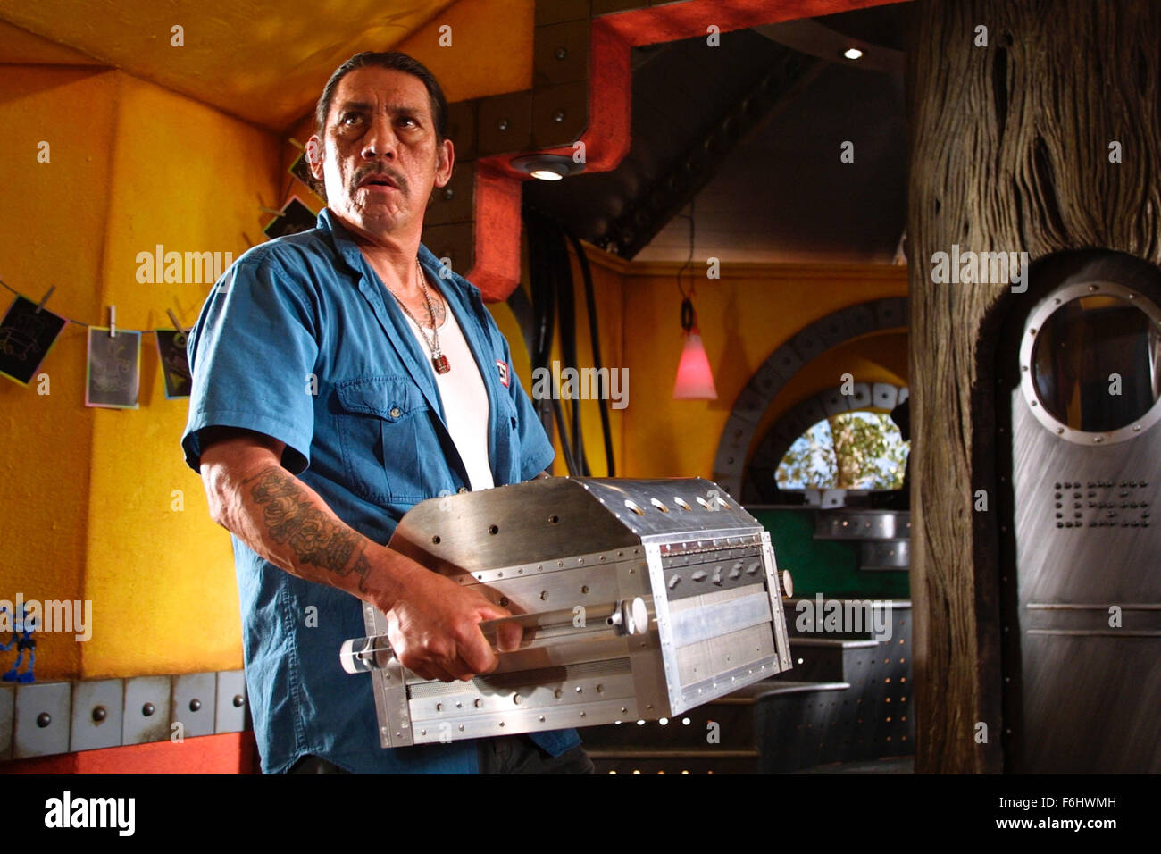 Jul 23, 2002; Hollywood, CA, USA; DANNY TREJO stars in 'Spy Kids 2: The Island of Lost Dreams.'.  (Credit Image: Stock Photo