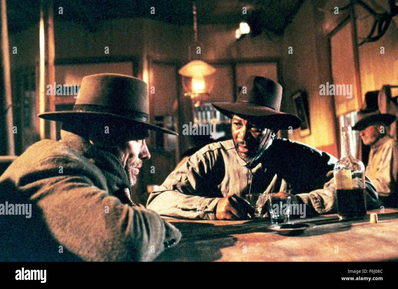 1992, Film Title: UNFORGIVEN, Director: CLINT EASTWOOD, Studio: WARNER, Pictured: CLINT EASTWOOD. (Credit Image: - Stock Image