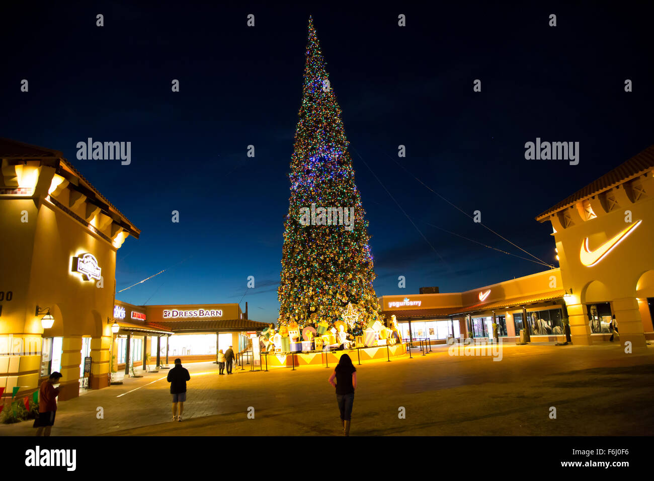The Outlets at Anthem, Arizona - Tallest Cut Christmas ...