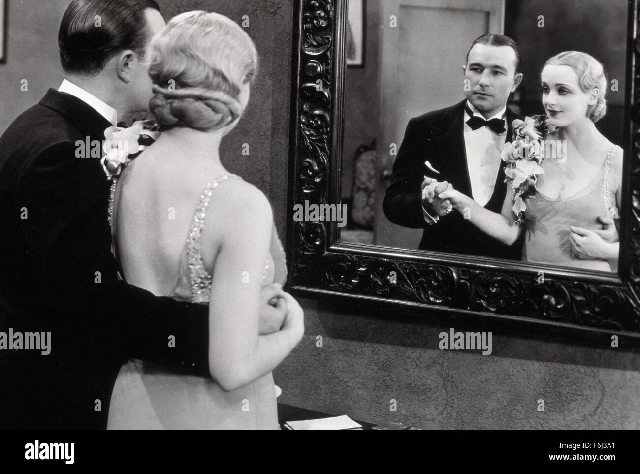 1930, Film Title: RACKETEER, Director: HOWARD HIGGINS, Studio: PATHE, Pictured: ACCESSORIES, ROBERT ARMSTRONG, HOWARD - Stock Image