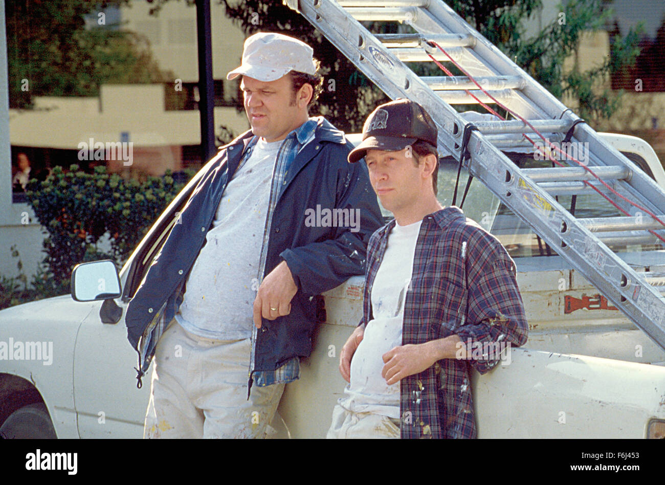 Dec 12, 2002; Hollywood, CA, USA; MIKE WHITE as Corny and JOHN C. REILLY as Phil Last star in a comedy 'The - Stock Image