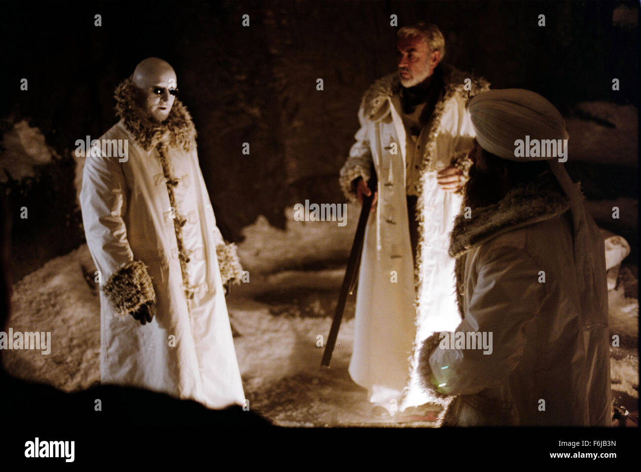 Jul 11, 2003; Calgary, AB, CANADA; TONY CURRAN and SEAN CONNERY star as Rodney Skinner (The Invisible Man) and Allan Stock Photo