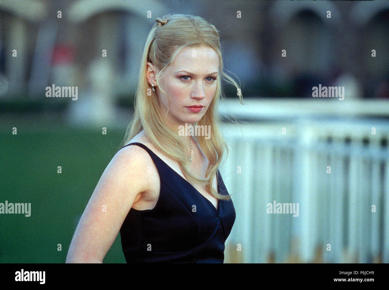 American Wedding Full Movie.January Jones As Cadence Flaherty Film Title American Wedding Stock