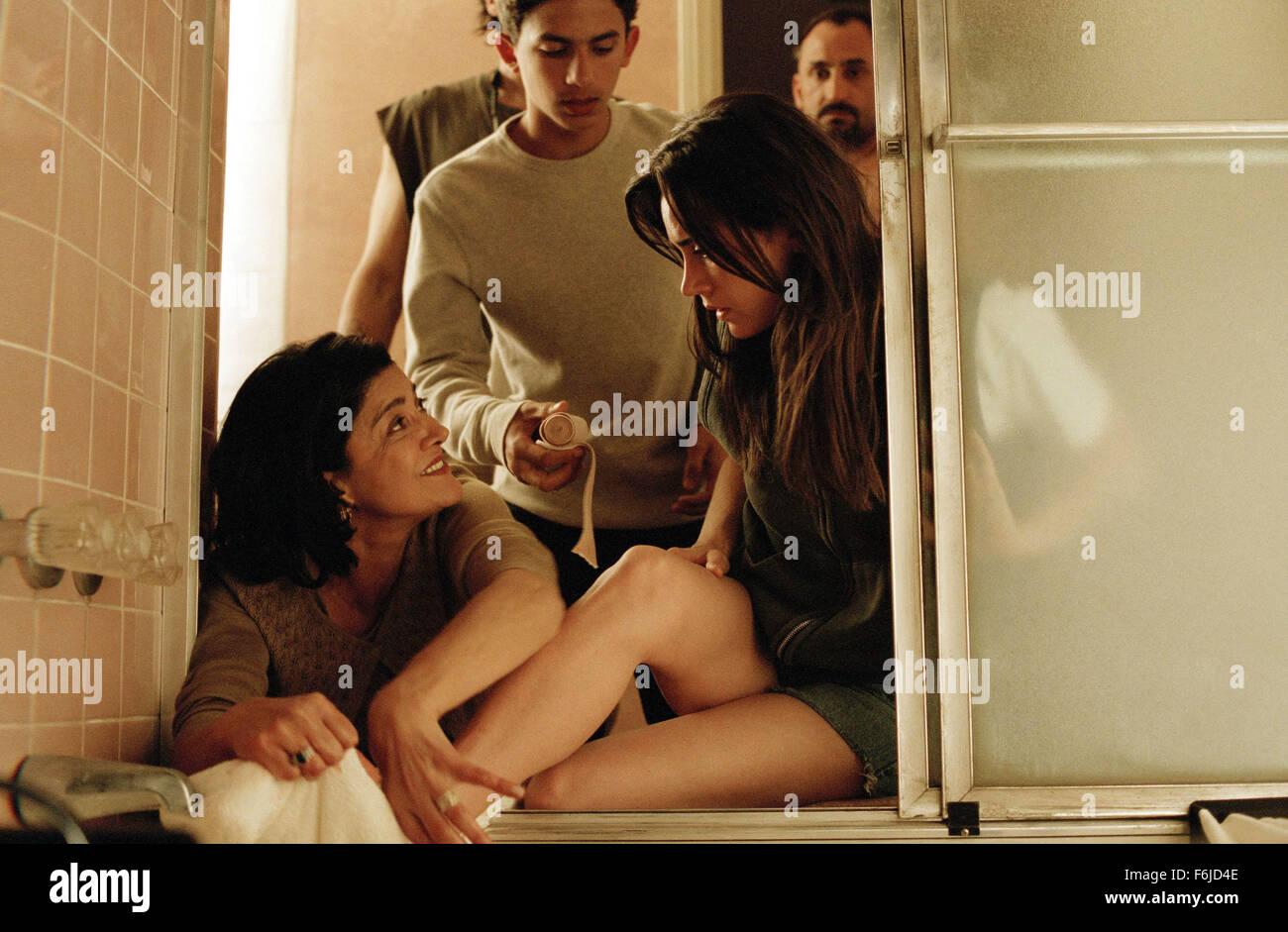 Nov 11, 2003; Hollywood, CA, USA; Nadi (SHOHREH AGHDASHLOO, left) tries to help mend Kathy Nicolo's (JENNIFER - Stock Image