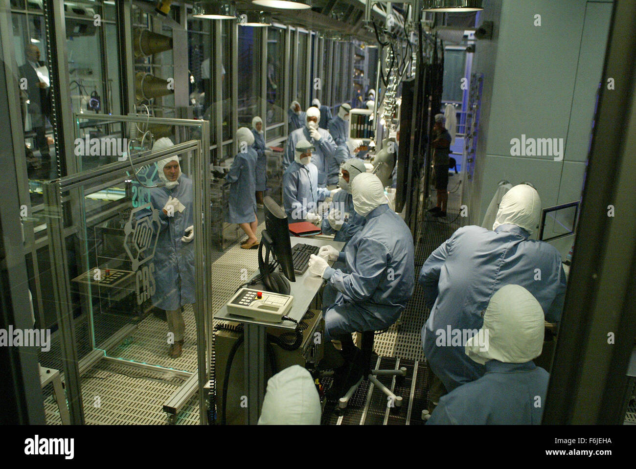 RELEASE DATE: June 30, 2003. MOVIE TITLE: Terminator 3: Rise of the Machines. STUDIO: C-2 Pictures. PLOT: After - Stock Image