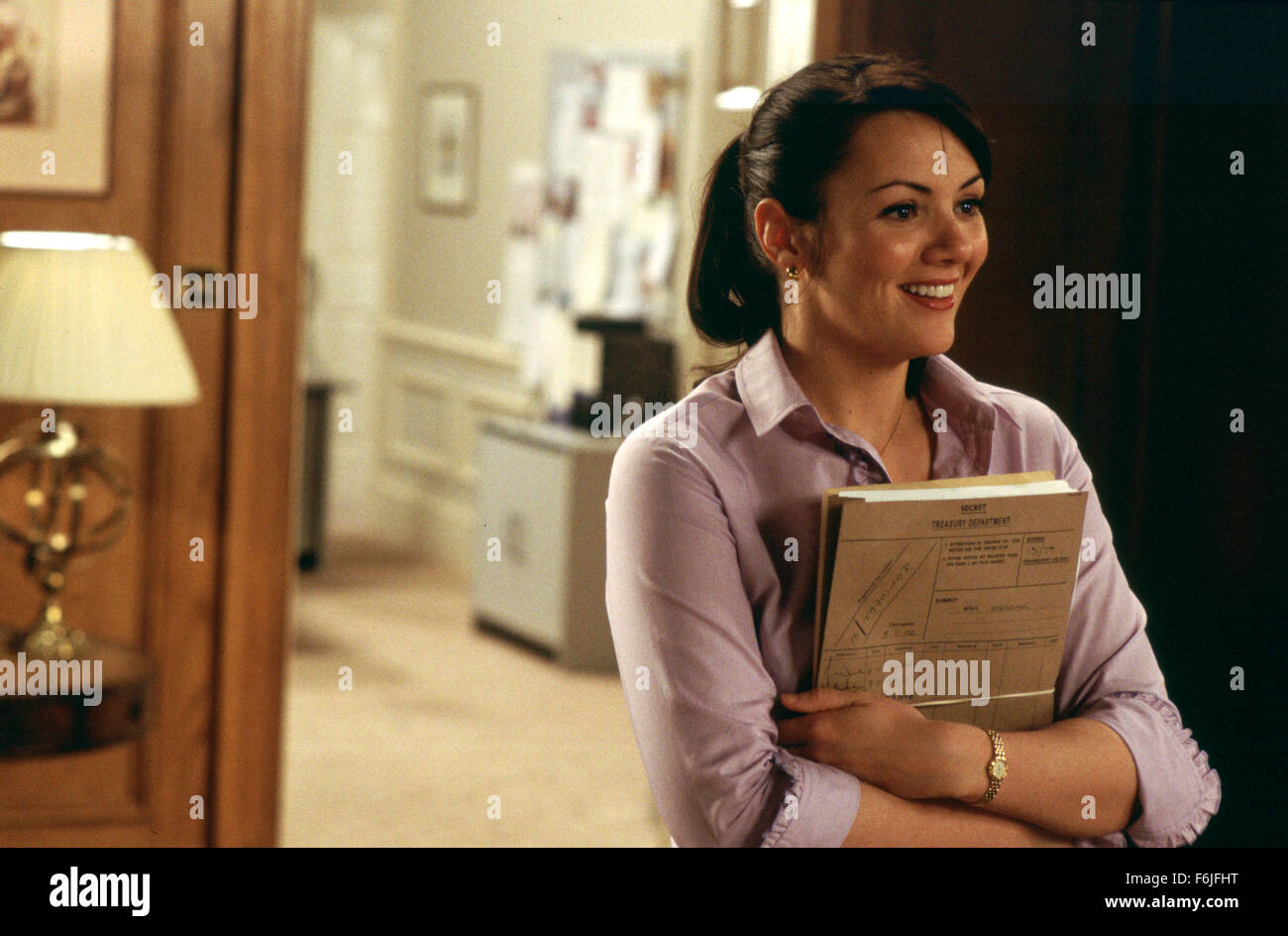 Sep 01, 2003; Hollywood, CA, USA; Actress MARTINE MCCUTCHEON stars as Natalie in Richard Curtis' romantic comedy - Stock Image
