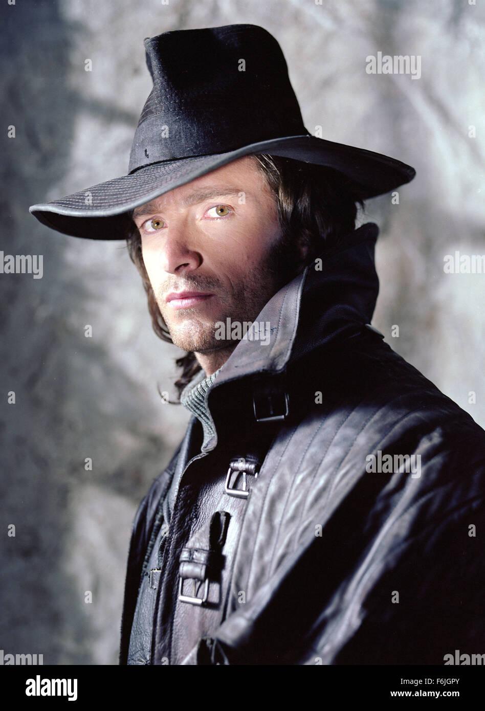 RELEASE DATE: May 7, 2004. MOVIE TITLE: Van Helsing. STUDIO: Universal Pictures. PLOT: Van Helsing is in the world - Stock Image