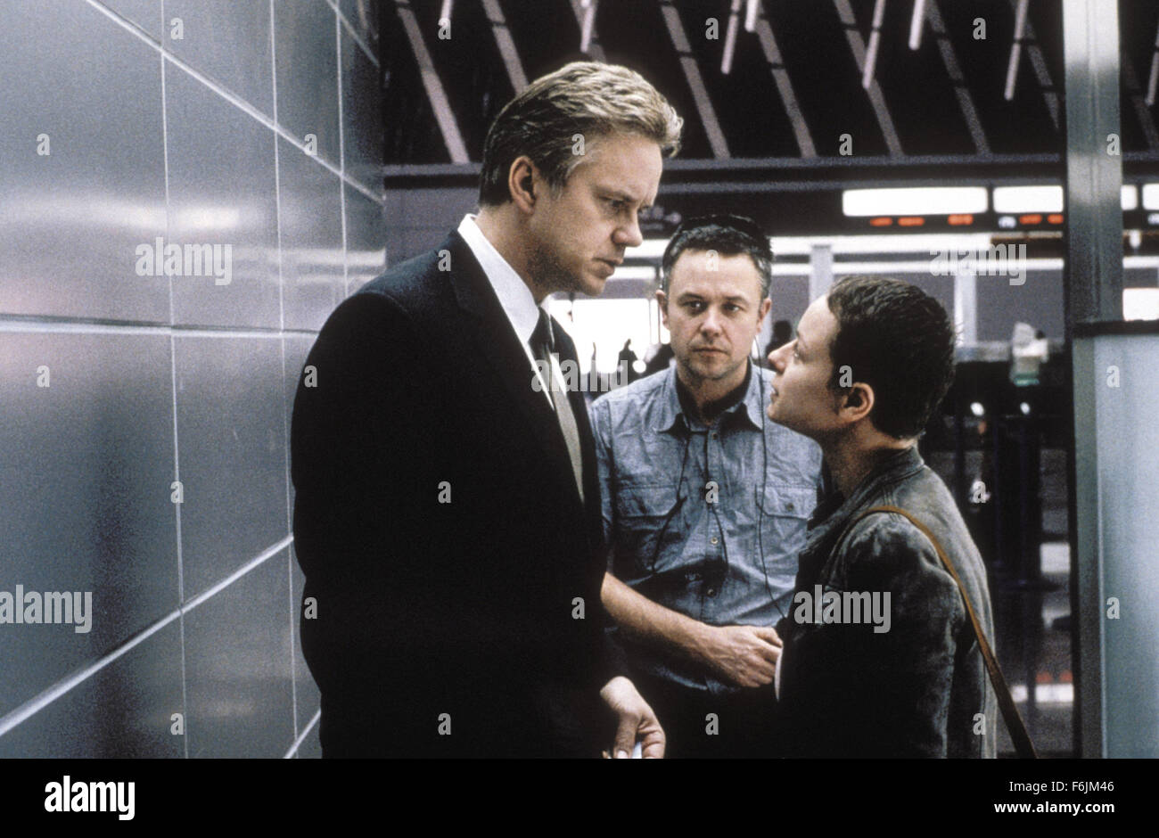 RELEASE DATE: August 6, 2004. MOVIE TITLE: Code 46. STUDIO: Revolution Films. PLOT: Code 46 is a love story set Stock Photo