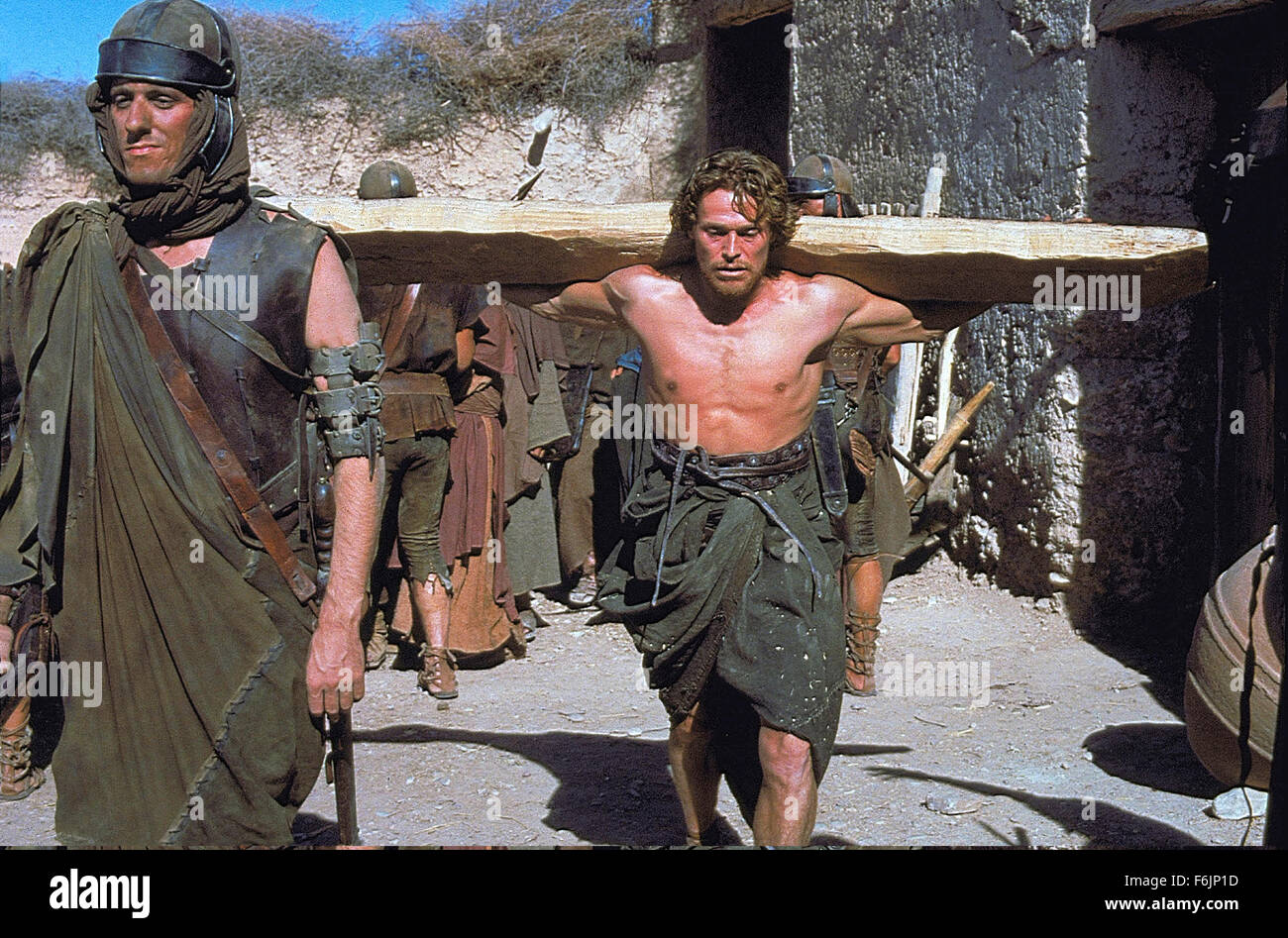 RELEASE DATE: August 12, 1988. MOVIE TITLE: The Last Temptation of Christ. STUDIO: Universal Pictures. PLOT: The - Stock Image