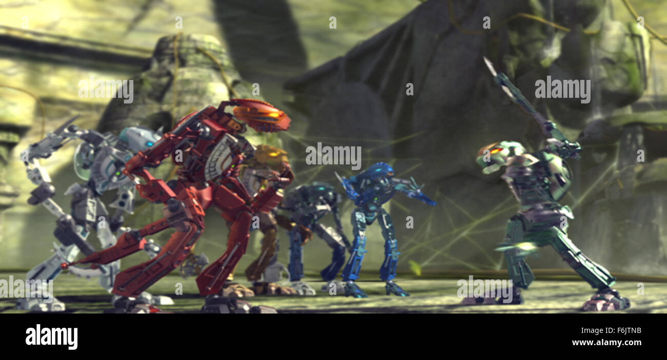 RELEASE DATE: October 11, 2005. MOVIE TITLE: Bionicle 3: Web of Shadows. STUDIO: Miramax Home Entertainment. PLOT: - Stock Image